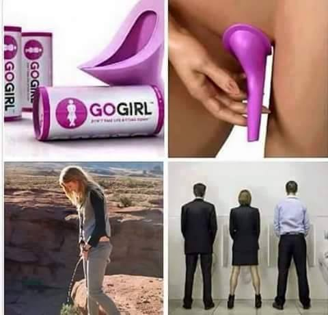 How women can pee like men
