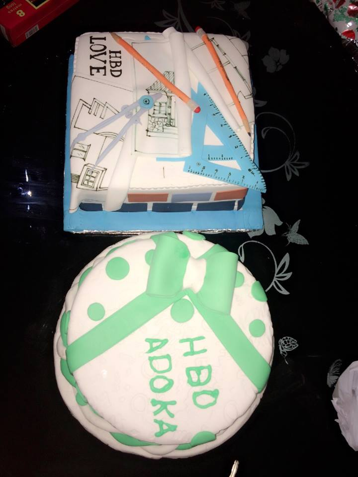Birthday Cake For Architect With Name
